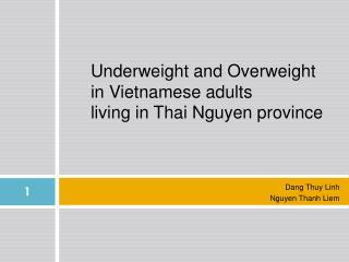 Dang Thuy Linh Nguyen Thanh Liem