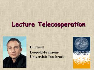 Lecture Telecooperation