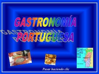 GASTRONOM A PORTUGUESA