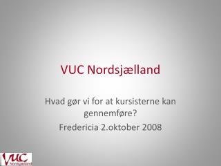 VUC Nordsjælland
