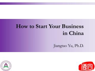 How to Start Your Business in China