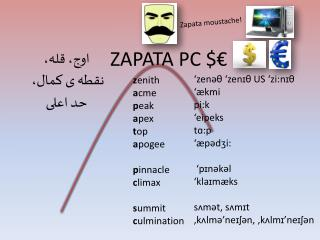 Zapata moustache!