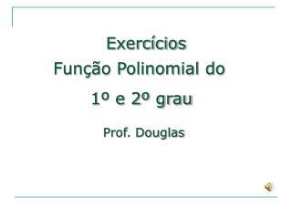 Função Polinomial do