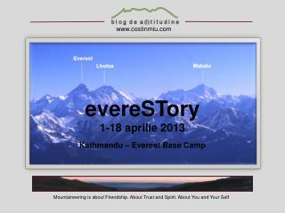 evereSTory 1-18 aprilie 2013