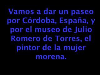 """Ay,mi morena."" de la zarzuela ""Luisa Fernanda""."