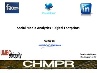 Social Media Analytics :  Digital Footprints