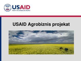 USAID Agr obiznis projekat