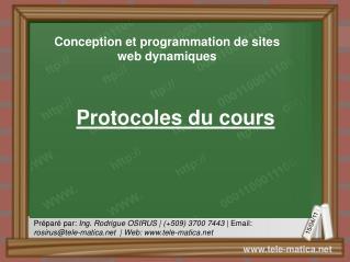 Protocoles du cours