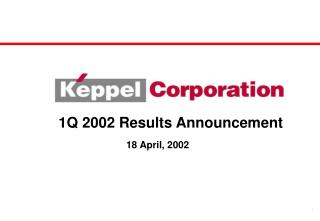 1Q 2002 Results Announcement