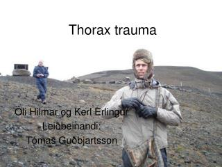 Thorax trauma