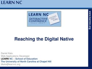Reaching the Digital Native