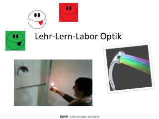 Lehr-Lern-Labor Optik