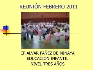 REUNIÓN FEBRERO 2011