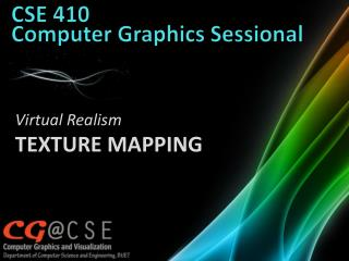 CSE 410  Computer Graphics  Sessional