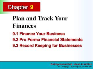 Plan and Track Your Finances