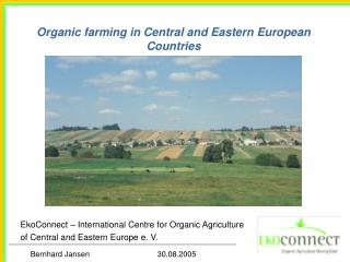 Organic farming in Central and Eastern European Countries