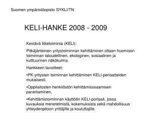 Suomen ympäristöopisto SYKLI/TN