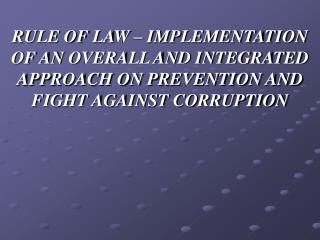 As part of the priorities of the Government of the Republic of Macedonia