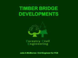 TIMBER BRIDGE DEVELOPMENTS