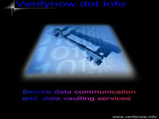 Secure Electronic Data  Communications and  Transactions