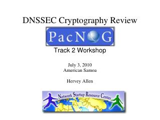 DNSSEC Cryptography Review