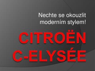 Citroën c- elysée