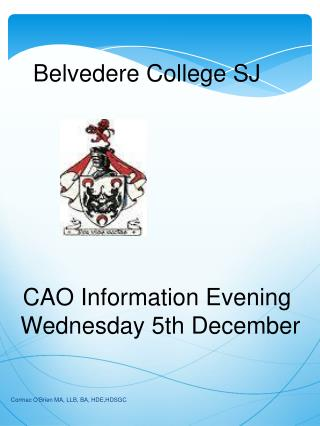 Belvedere College SJ