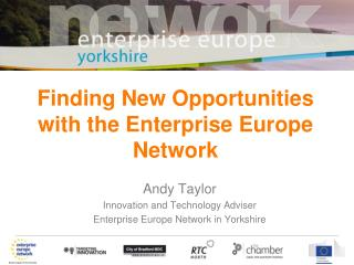 Finding New Opportunities with the Enterprise Europe Network