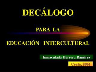 Inmaculada Herrera Ramírez