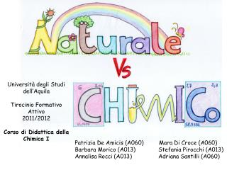 Università degli Studi dell'Aquila Tirocinio Formativo Attivo 2011/2012