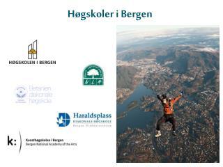 H�gskoler i Bergen