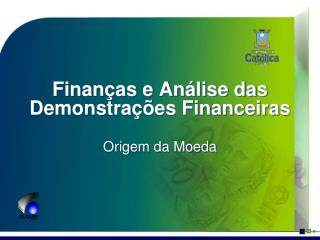 Finan as e An lise das Demonstra  es Financeiras