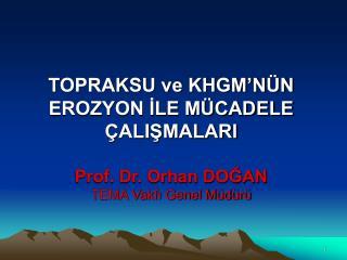 4 - Türkiye Erozyon Haritası TOPRAKSU (Atatürk'ün 100. doğum yılı – 1981)