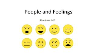 People  and Feelings