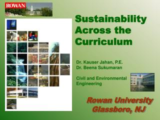 Sustainability Across the Curriculum