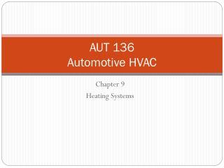 AUT 136 Automotive HVAC