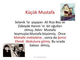 Küçük Mustafa