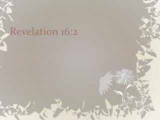 Revelation 16:2