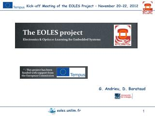 * : This project has been funded with support from the European Commission