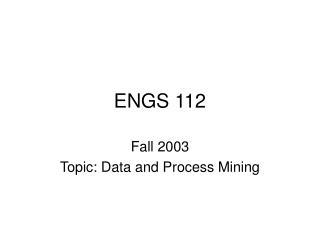 ENGS 112