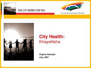 City Health: Khayelitsha