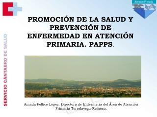 PROMOCI N DE LA SALUD Y PREVENCI N DE ENFERMEDAD EN ATENCI N PRIMARIA. PAPPS.