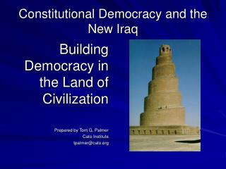 Constitutional Democracy and the New Iraq