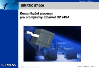 SIMATIC  S7-200