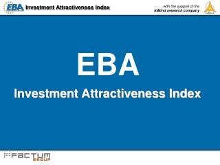 Investment Attractiveness Index