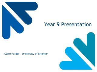 Year 9 Presentation