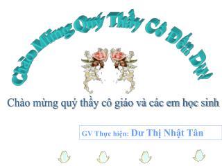Ch�o M?ng Qu� Th?y C� ??n D?!
