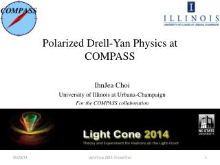 Polarized  Drell-Yan  Physics at  COMPASS