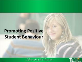 Promoting Positive Student Behaviour