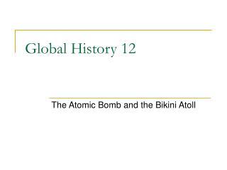 Global History 12